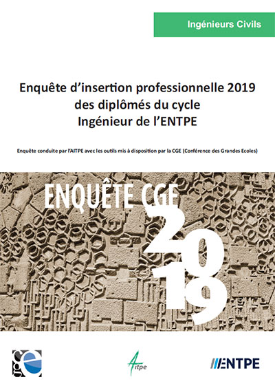 Enquête insertion professionnelle 2019