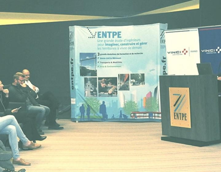 L'ENTPE et VINCI Construction France renforcent leur collaboration