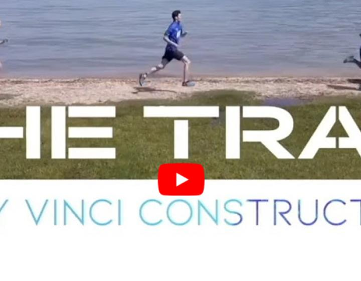 The trail by Vinci construction